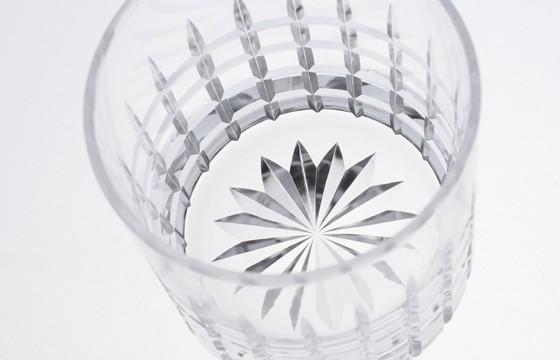002:ロックグラス 十六菊