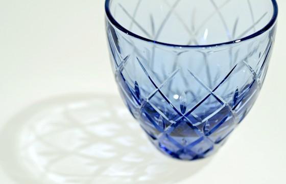 011:グラス(吹きガラス) 矢来